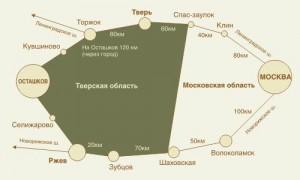 От Москвы до Осташкова
